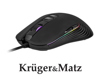 Mouse gaming Warrior GM-60 Kruger&Matz(KM0752)