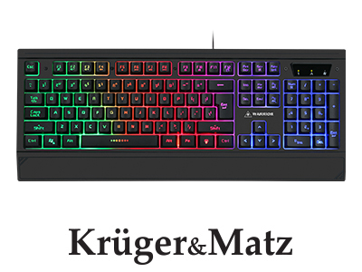Tastatura gaming Warrior GK-70 Kruger&Matz