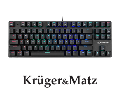 TASTATURA GAMING WARRIOR GK-90 KRUGER&MATZ