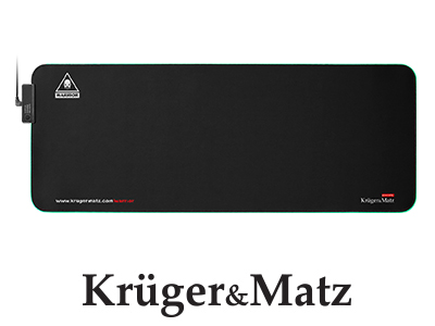 Mouse pad si gaming iluminat Warrior Kruger&Matz