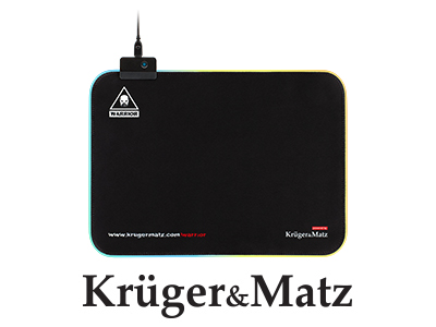 Mouse pad gaming iluminat Warrior Kruger&Matz