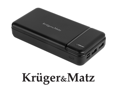 Power bank 20000 mAh Kruger&Matz (KM0906)