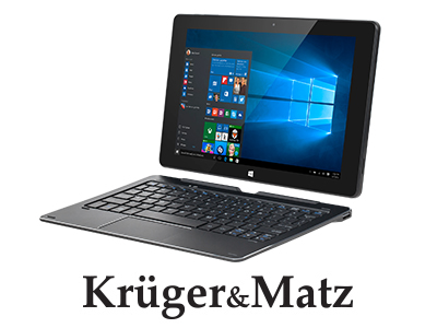 Tableta cu tastatura 10.1 inch Edge Windows 10