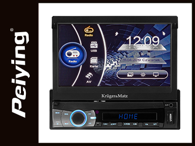 RADIO PLAYER 1 DIN 7 INCH BT 4X40W K&M