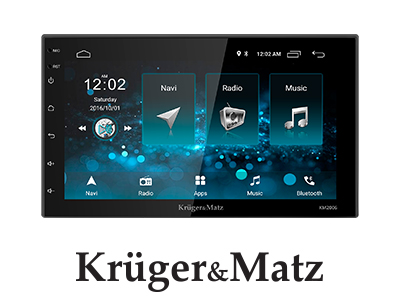 Player auto 2 DIN Android 8.1 Kruger&Matz