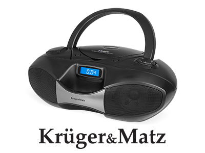 BOOMBOX CD SD USB BLUETOOTH FM KRUGER&MATZ
