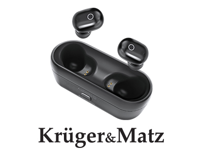 Casti wireless in-ear Air Dots 1 Kruger&Matz