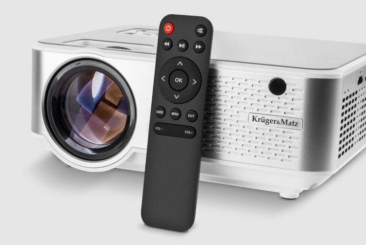Proietor LED Kruger&Matz cu telecomanda