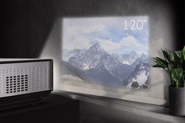"Proiector LED Full HD Kruger&Matz 120"""