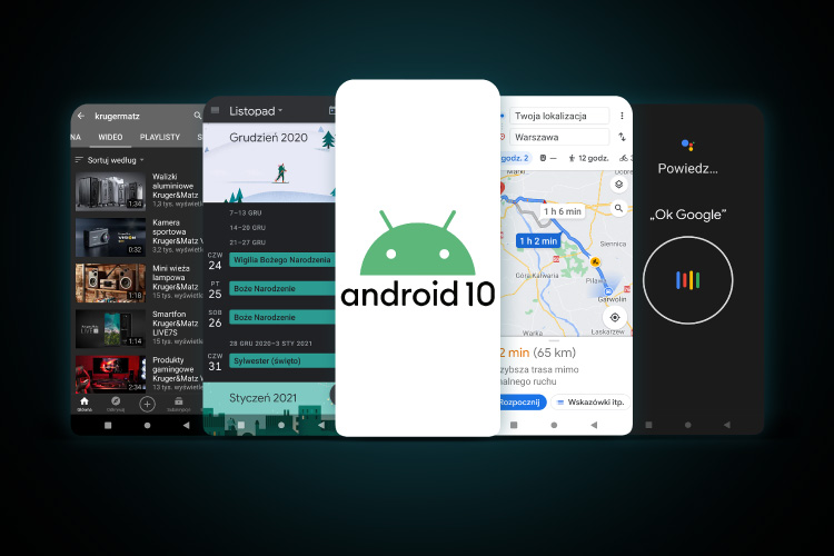 Smartphone cu Android 10