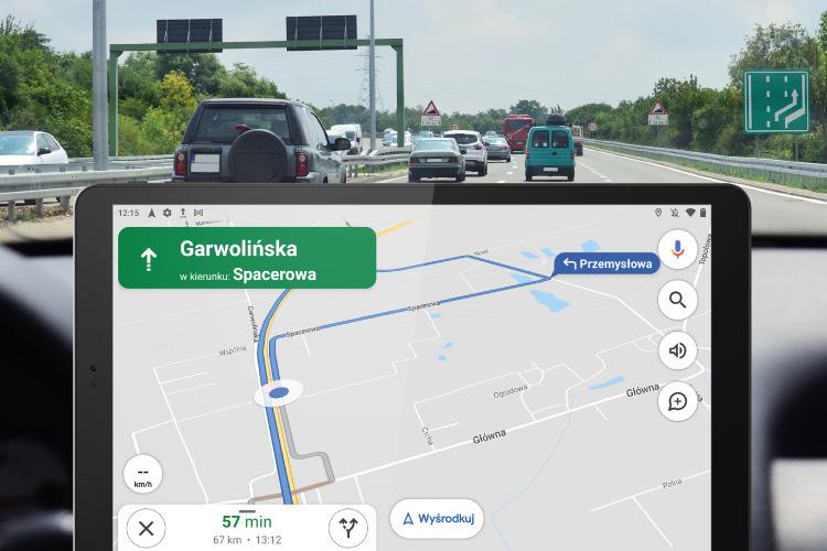 Tableta cu GPS