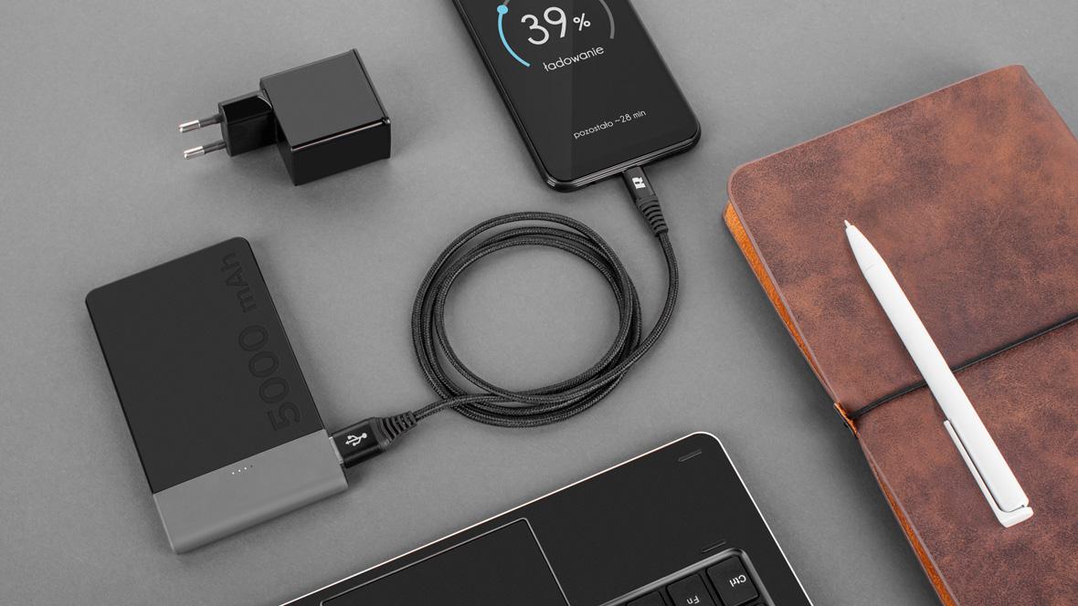 Cablu USB – micro USB Rebel Comp