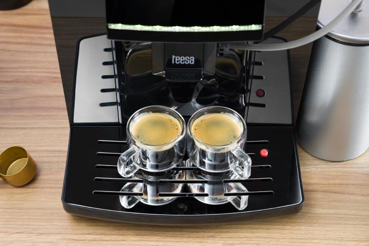 Expressor pentru doua cafele