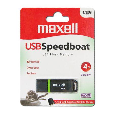 Flash Drive 4gb Usb 2.0 Speedboat Maxell