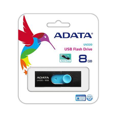 Flash Drive Usb 2.0 8gb Uv220 Adata